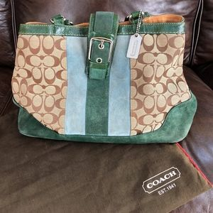 Coach Purse with protective bag